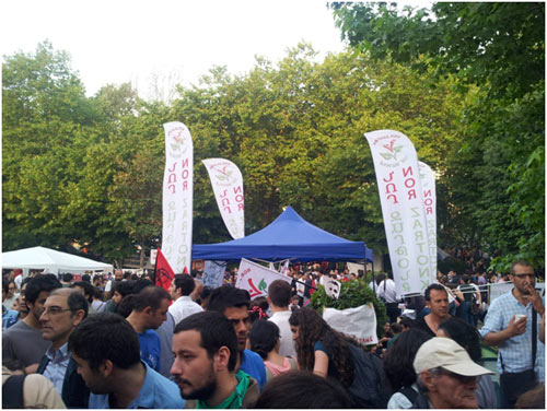Nor Zartonk @Gezi